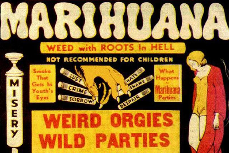 Marijuana movie poster 1930s