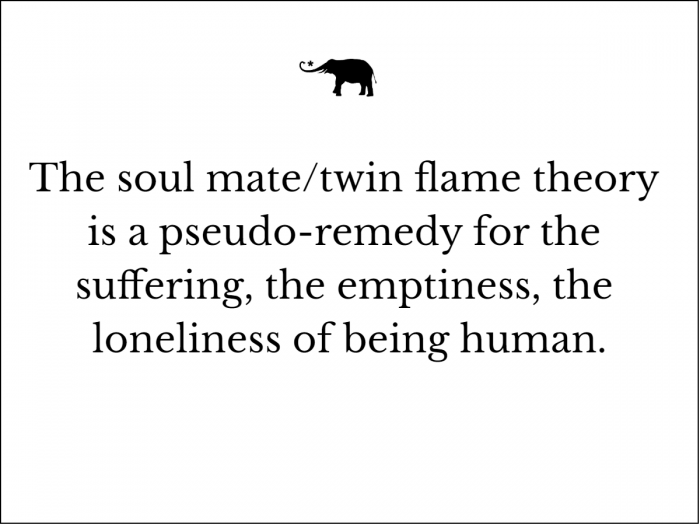 Twin plato flames on Twin Flames: