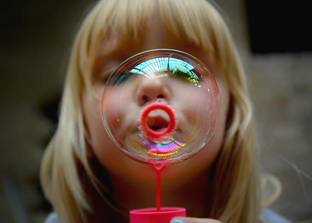 girl bubble