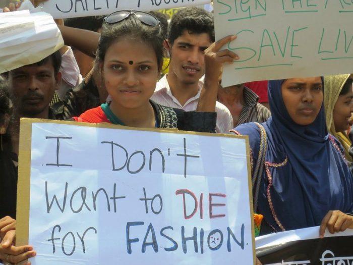 Rana Plaza Worker's Rights Fast Fashion