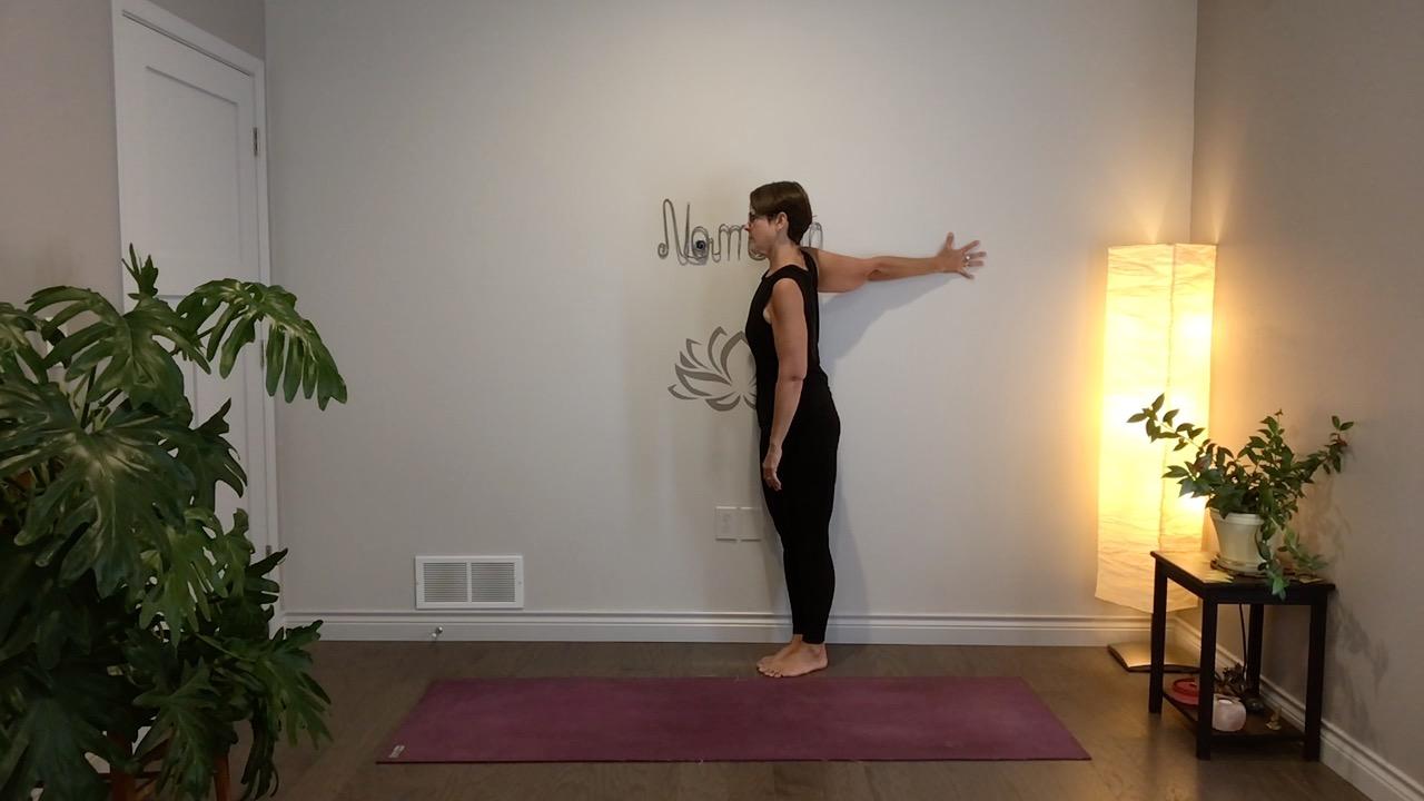 yoga stretches