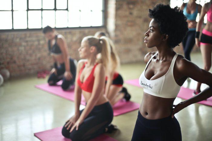 Yoga class diversity