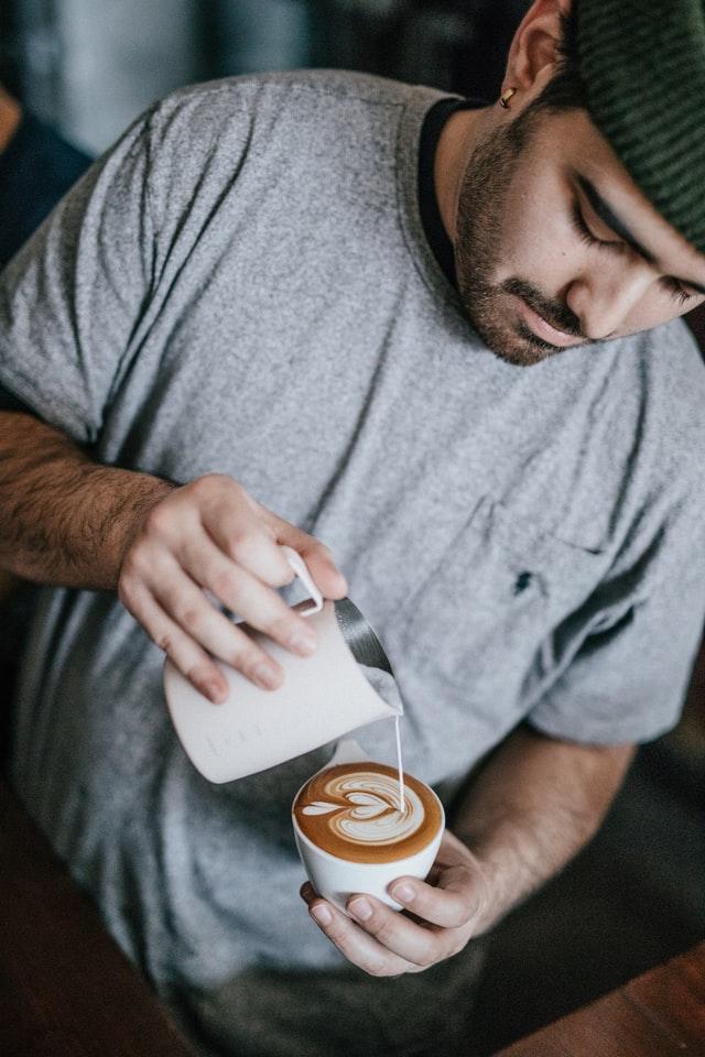barista, coffee art, career set back