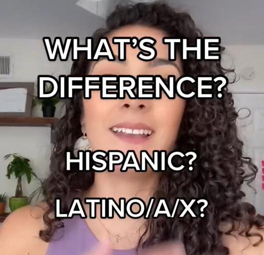 Latinx Hispanic Latina